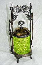 Antique American Silver Plated Sugar Server.