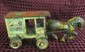 Marx Tin windup Wagon & Horse