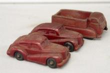 Three Carter Coal Co Cars
