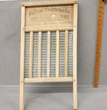 19th Century National Washboard Co - original condition # 701
