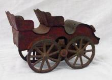 1800's Metal Toy car from Germany