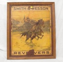 Early Smith & Wesson Revolver Poster