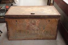 Early Trunk style Surveyor's Field Desk