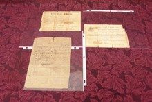 THREE ORIGINAL CIVIL WAR DOCUMENTS - CONFEDERATE - FROM PRIVATE BURWELL B. BROWN