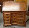 MATTOX BLOCK FRONT SECRETARY DESK