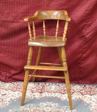 19TH CENTURY VIRGINIA CHILD'S HIGH CHAIR