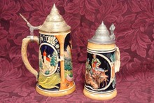 WEST GERMAN BEER STEINS