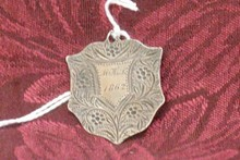 CIVIL WAR DATED SCHOOL MEDAL