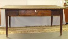 1800's Franklin County, VA Primitive Farm Table
