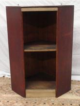 Early 1800's Open Hanging Corner Cupboard