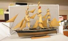 Handmade wooden Clipper Sailing Ship