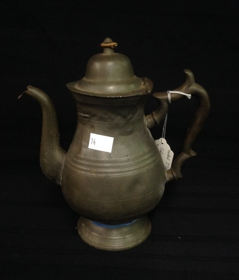 J.Danforth 1820's Coffee Pot from Connecticut