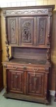 Three part 1800's German Cupboard