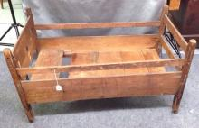 Mortised constructed early 1800's Baby Bed