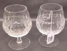 Waterford Crystal Brandy Snifters