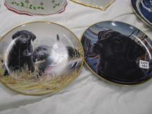 A pair of Franklin Mint limited edition plates