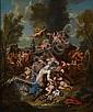 Jacob Ignatius Roore (Belgian, 1686-1747) Bacchanalia 33 1/2 x 28in (85.1 x 71.2cm), Jacobus Ignatius