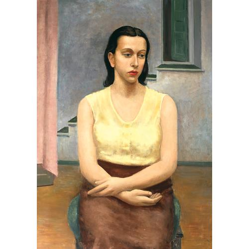 Arnold Blanch A Seated Girl oil painting