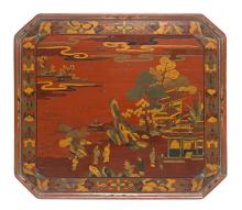 A rare lacquer decorated offering table Fine Japanese and Korean Works of Art