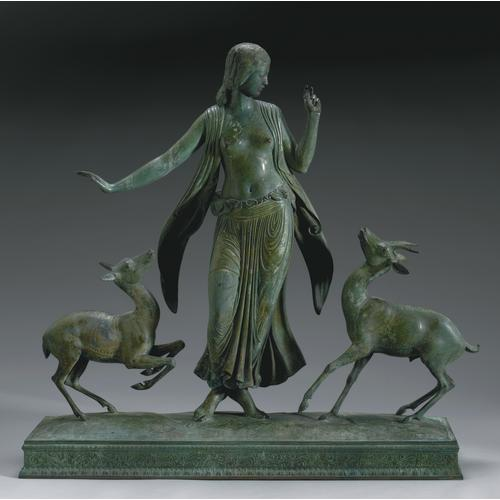 Paul Manship Dancer Gazelle Bronze