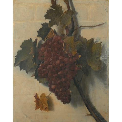 Brookes Still Life of Grapes Oil