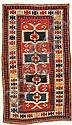 A Kazak rug Caucasus size approximately 3ft. 2in. x 5ft. 3in.