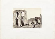 FRITH, FRANCIS. 1822-1898.  Egypt and Palestine Photographed and Described. London: James S. Virtue, [1858-59.]