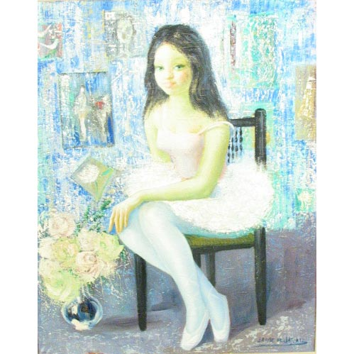 Jaime de Jaraiz,  <i>A Ballerina in the Artist's Studio</i>