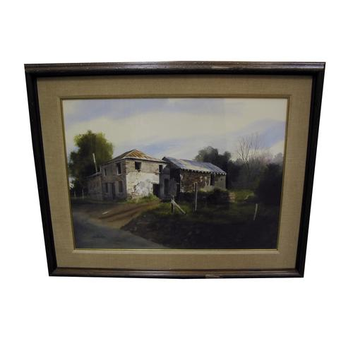 James Peter Cost Mother Lode Country Watercolor