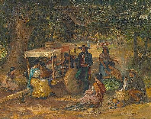 alexander francis harmer works on sale at auction