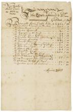 NEW YORK?1687.- Manuscript Signed (