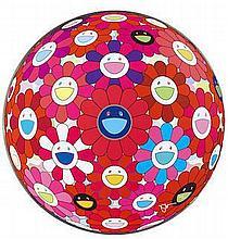 TAKASHI MURAKAMI (BORN 1962)  Comprehending the 51st Dimension (Flower Ball 3D); Hey! You! Do