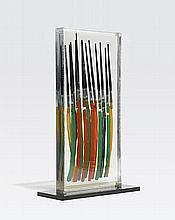 ARMAN (1928-2005)  Color Strokes, 1991