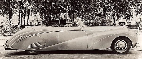 The 1948 London Motor Show, Earls Court Exhibition,ex-Sir Bernard Docker – from the Estate of the Late John H. Sweeney,1948 Daimler DE-36 'Green Goddess'-'The Chairman's Car' Chassis no. 51233