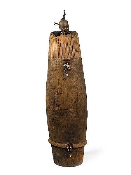 Gerard Quenum (Beninese, born 1971) Devin (Diviner) 61 7/16in (156cm) high