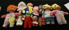 Box Of 15 Collectible Toll Dolls