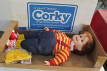 Vintage Corky Doll New In Box