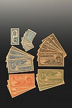 A SET OF TA CHING GOVERNMENT BANK OF CHINA BANK NOTES