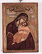 Icona raffigurante Madonna della tenerezza