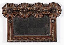 Carlo Bugatti (1856-1940) - Milano Appediabiti con specchio