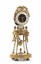 Orologio in bronzo dorato, Francia, Caston Jolly, Paris
