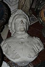 Scultore Inglese del XIX secolo Busto di anziana signora