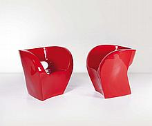 Ron Arad. Coppia di poltrone Little Albert in