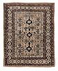 Tappeto caucasico Shirvan Perepedil, fine XIX inizio XX secolo