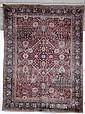 Tappeto persiano Isfhan, fine XIX - inizio XX secolo