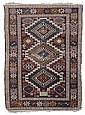 Tappeto caucasico Shirvan, fine XIX secolo