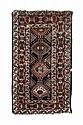 Tappeto caucasico Kazak, fine XIX secolo
