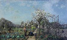 DEMONT, Adrien. Oil on Canvas