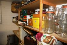 Selection Of Preserving Jars & Kitchen Gear