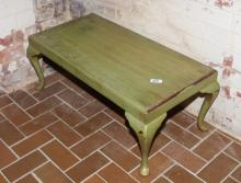 Painted Queen Anne Style Coffee Table